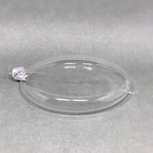 wholesale clear flat glass ornament made in China