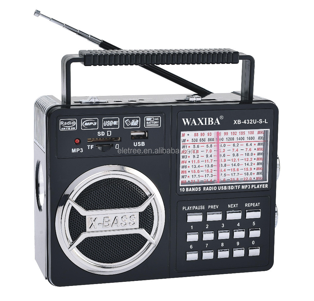 WAXIBA wireless outdoor am fm radio antenna vintage antique radios