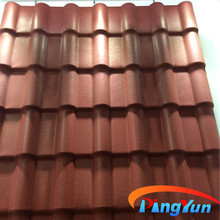 china factory Hot sale plastic coffee brown roof tiles for villa