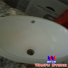 Factory Price Freestanding Solid Surface Artificial Stone wash basins fibre glass
