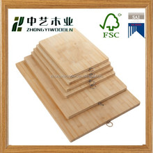 2015 year china factory supplier sale FSC&SA8000 customized kitchen chopping wooden cutting board rack