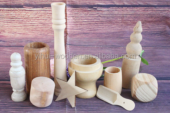 unfinished wood craft shapes/Small Pine Wholesale Unfinished Art Minds for Crafts