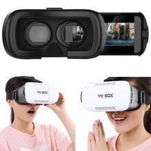 Factory 3D TV Video Virtual Reality VR Headset Box Glasses for Android IOS Mobile Phones