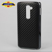 Stylish Carbon Fibre Bumper Hard Case Cover for LG G2