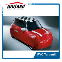 China pvc car parts design fabric tarpaulin high quality and cheap price