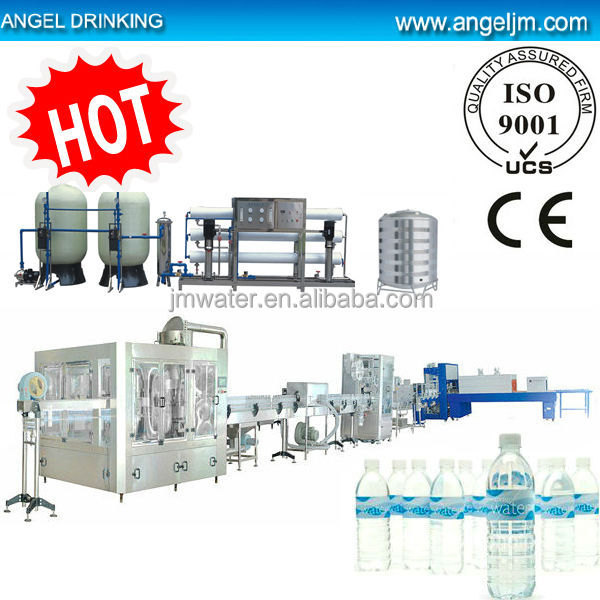 Full automatic good price water processing and packaging line