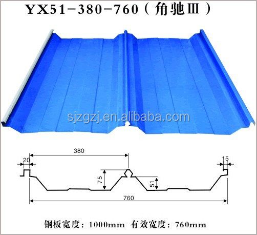wholesale sunfast ppgi corrugated steel sheet / cheap curved metal roofing sheet