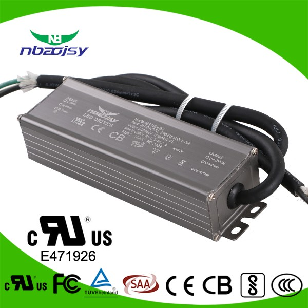60W 1200ma constant current waterproof led driver IP67