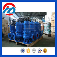 Heavy duty non-clog sewage submersible pump industrial electric slurry mission pump
