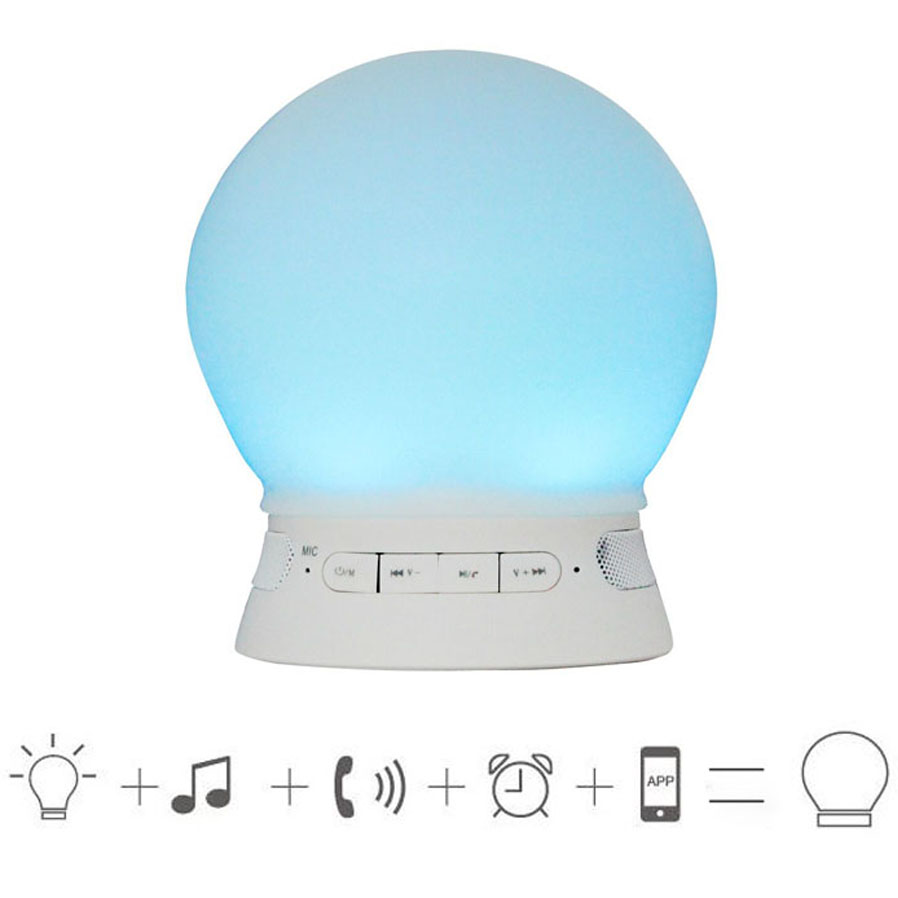 D04 Bluetooth Speaker Smart LED Color UP Music Bulb