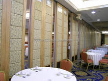fixed room divider/ Acoustic Folding Wall /Soundproof Movable Partition