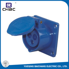 CHBC Wholesale High Quality Blue Electrical IP44 Industry Wall Plugs And Socket