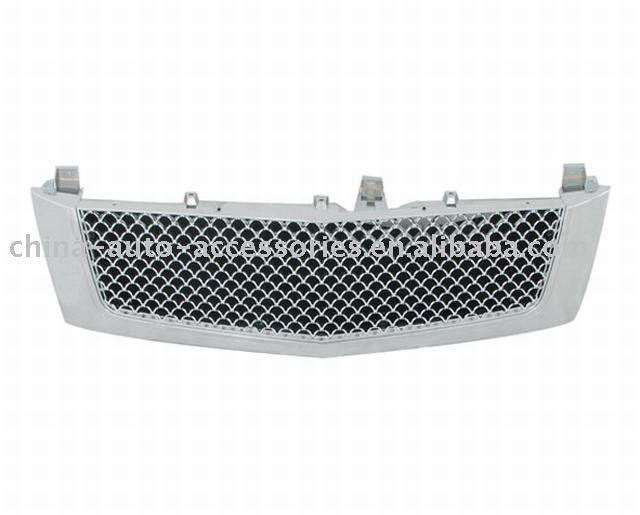 03-06 Cadillac Escalade ABS Chrome Mesh Packaged Grille