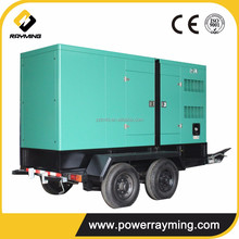 High Strong Quality Portable Mobile Type 250kva Diesel Generator Set