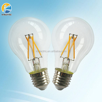 2014 Newest design 6w led filament bulb, e27/b22 A60 led filament lamp without plastic ring