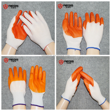 PU dipped safety work glove