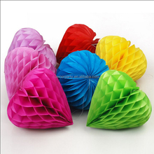 Party Paper Decoration Paper Balls Beautiful Tissue Paper Honeycomb Balls
