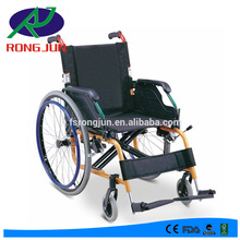 colorful lightweight folding remote wheelchair for disabled RJ-W880LA
