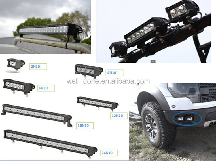 4.8 inch led light bar high power LED light bar, WD-2N10, super anti-shock and water-proof light bar
