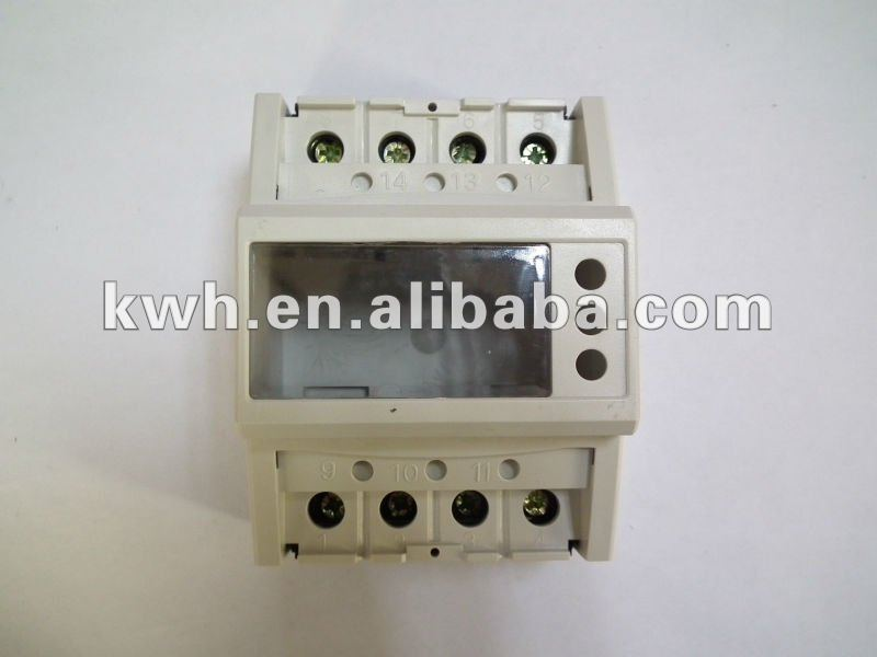 case for energy meter or Kwh meter with accessory