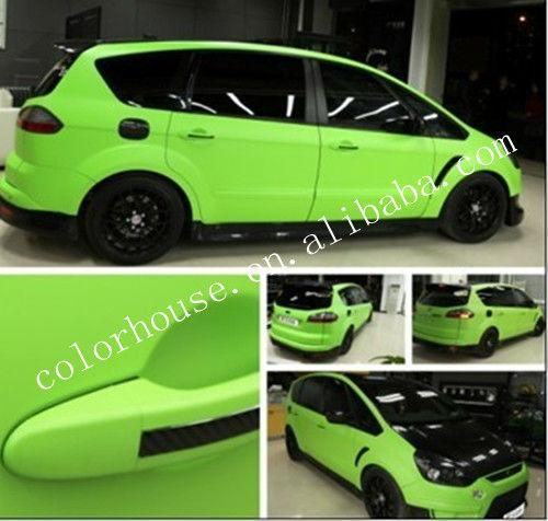 Factory direct sale matte car wrapping vinyl film