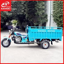 China Three Wheel Gas Motorcycle Scooter 3 Wheel Electric Motor Bike Seated Passenger Tricycle in Guangzhou