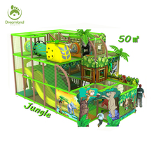 50 sqm jungle gym kids indoor play area equipment