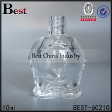 10ml hot sale nail polish bottle, screw-on top, free samples, Alibaba Supplier