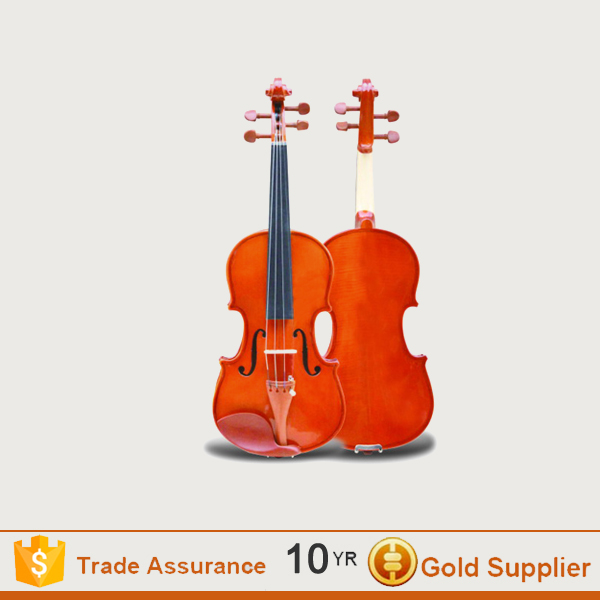 High Quality Entry-level Antique Style double violin with violin case