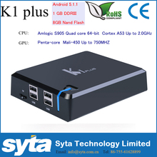 SYTA K1plus S905 OTT TV Box Hybrid Amlogic S905 Quad Core 64-bit 1G/8G(4~32G Optional) Support Bluetooth Wifi 3G USB Dongle