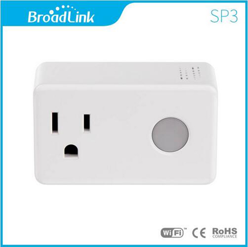Broadlink SP3 cc Socket EU US SP Mini3 Contros Smart Plug Wireless WiFi Remote Control 16A /15A Power Supply Plug IOS Android