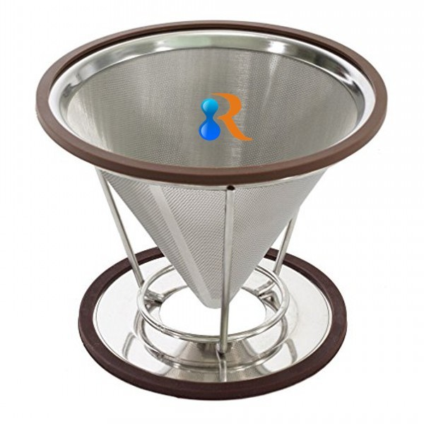 cone drip brewer coffee filter micron