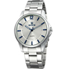 SKONE 7266 Hot Selling Stainless steel band and back Style Men's wristWatch Vogue Watch