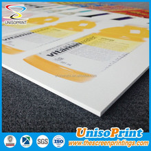 1mm 3mm 5mm Matt White Foam PVC Sheet A4 A3 Foamex Foam PVC Sheet Sign Board
