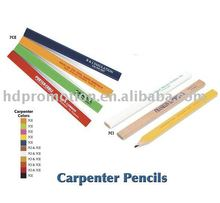 "7"" and 10"" eight-square and quadrate and elliptical shape carpenter pencils"
