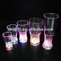 Plastic Lighted Coke Glass with CE,RoHS