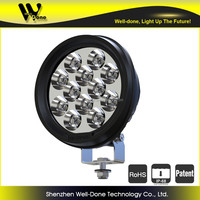 60W super bright round led driving light, Jeep round led driving light pencil beam