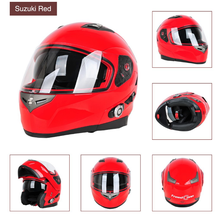 Cool Walkie Talkie Reduced Headband Force Motorcycle Racing Helmets With Bluetooth Intercom Built In