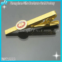 New product metal gold tie clips, clip on tie parts, clip on tie clips of China manufacturer
