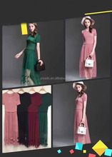 Long Formal Evening Prom Party Dress Bridesmaid Dresses Ball Gown Cocktail pleated Dress Free Size