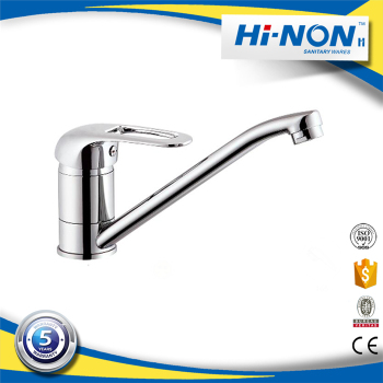 Competitive Price polished single lever kitchen faucet taps