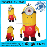 Advertising Large Inflatable Minion, Inflatable Despicable Me Minion For Sale