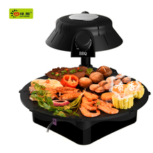 2015 hot sale infrared one time use bbq grill &rotating barbecue bbq grill with bbq roaster with charcoal on top