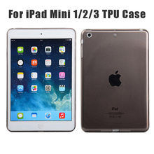 Exquisite TPU Ultra Slim Clear TPU Clear For Ipad Mini Smart Case