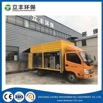 PSSD4-TRP1211D Lifeng Environmental High appreciated for Mechanical portable sewage sludge dewatering