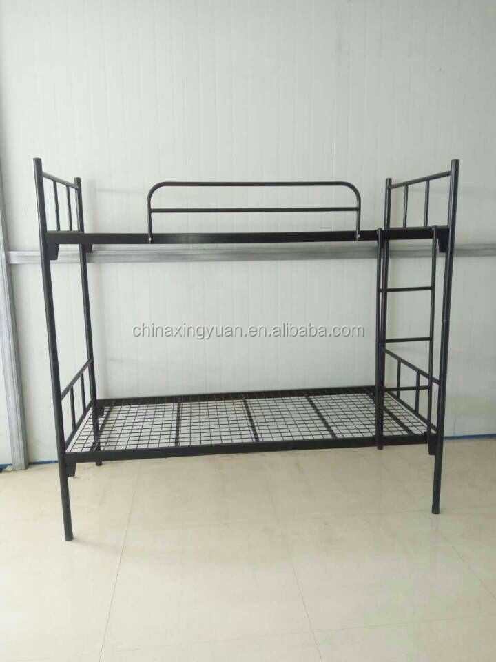 Luoyang usine qualit renvers amovible adulte lit superpos en m tal lit en - Lit superpose bonne qualite ...