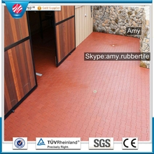 Public place outdoor cheap basketball court rubber floor