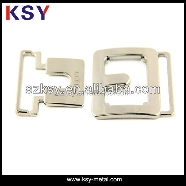 custom metal side release buckle for dog collars