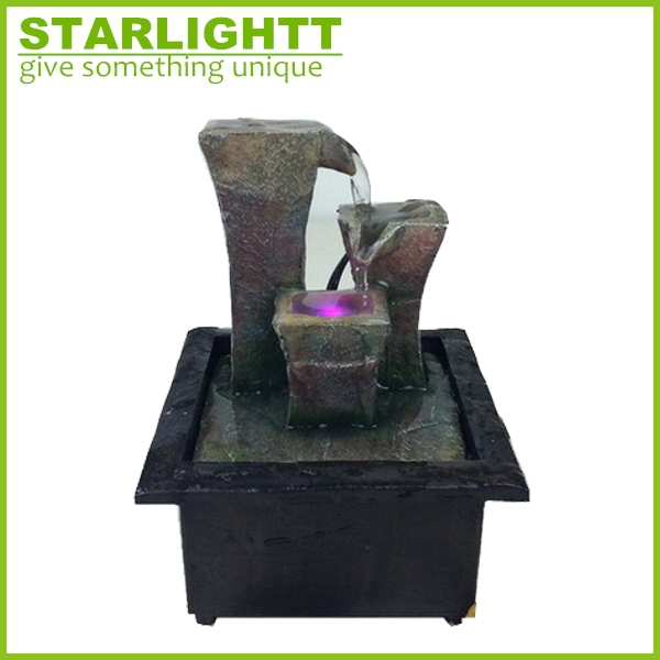 Polyresin Water Fountain For Home & Garden Decoration