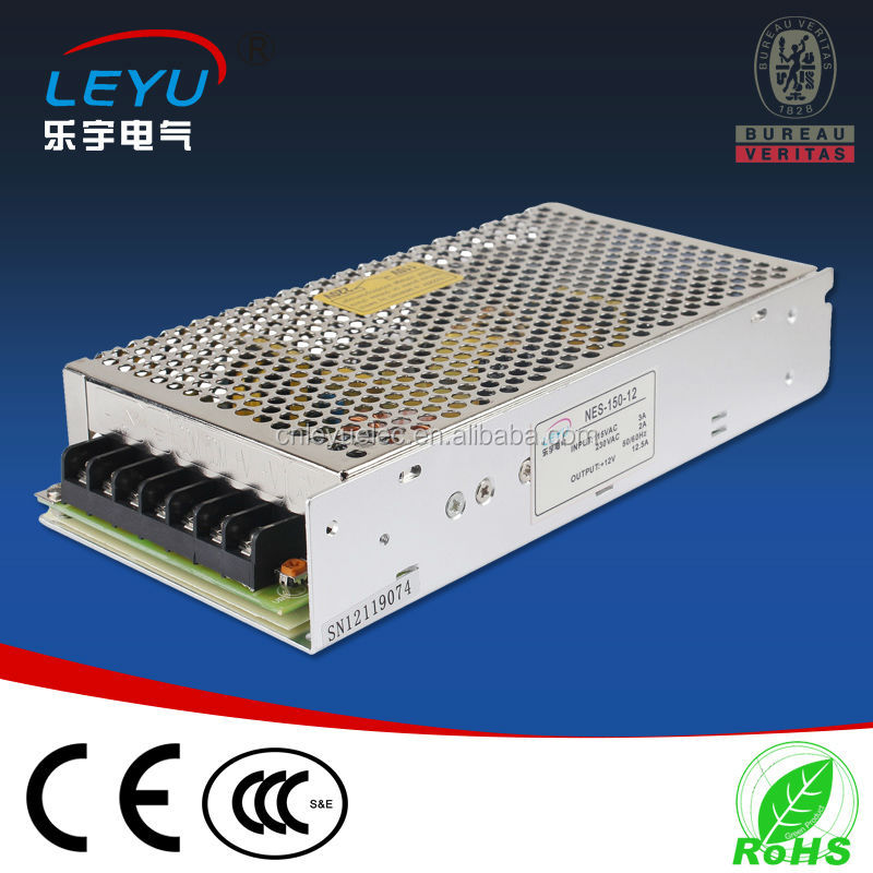 Factory outlet NES-150 transformer 15v 150w led power supply switching model ac dc power supply